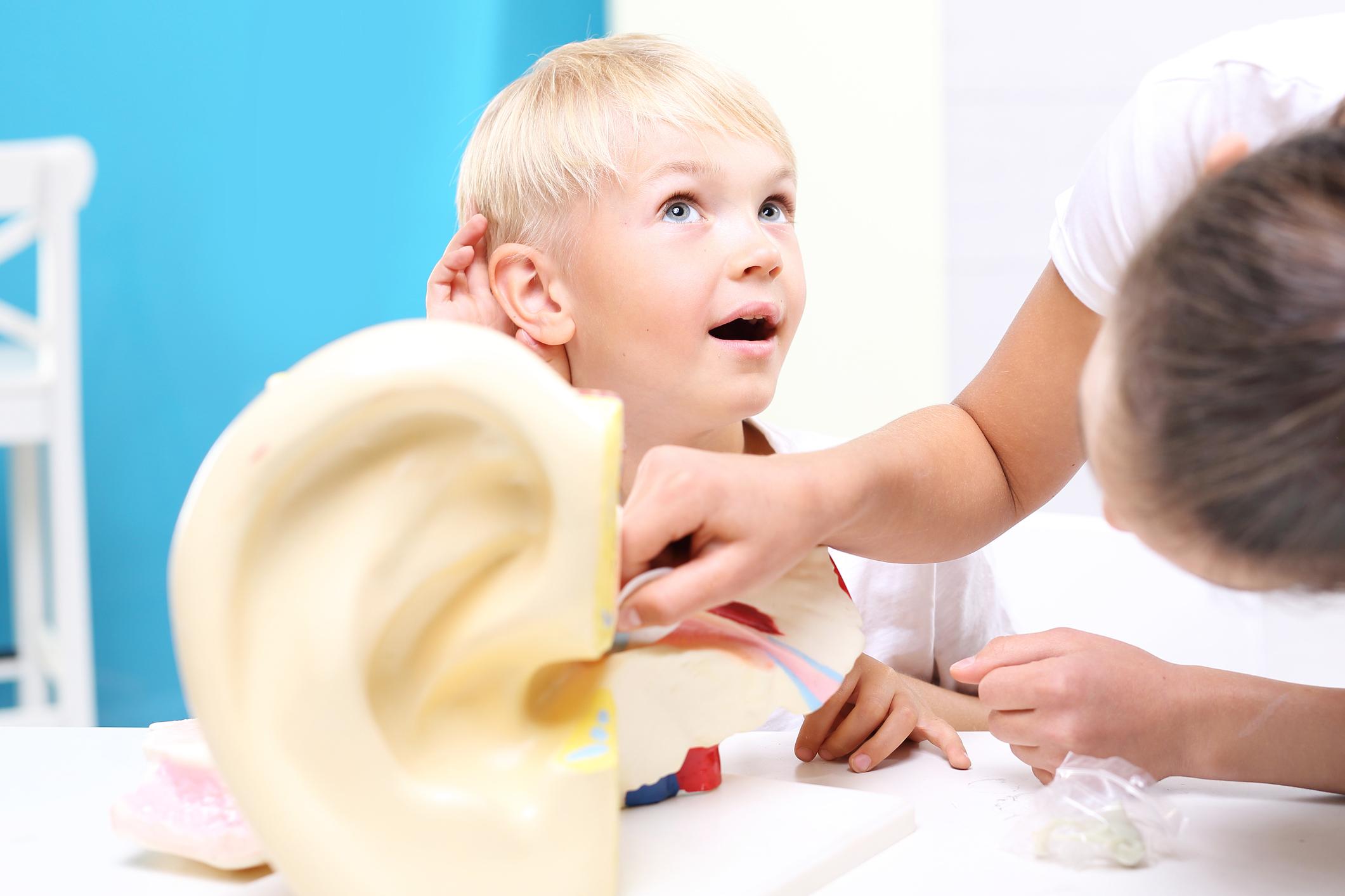 втрата слуху у дітей